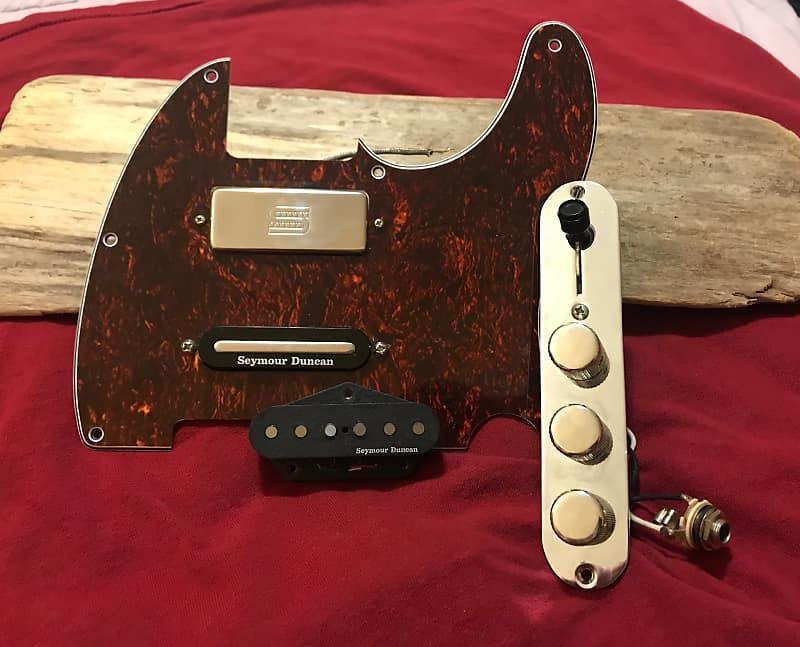 Fender Tele Telecaster Loaded Pickguard Duncan Brent Mason Pickups on