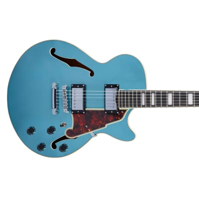 D'Angelico Premier SS Ocean Turquoise
