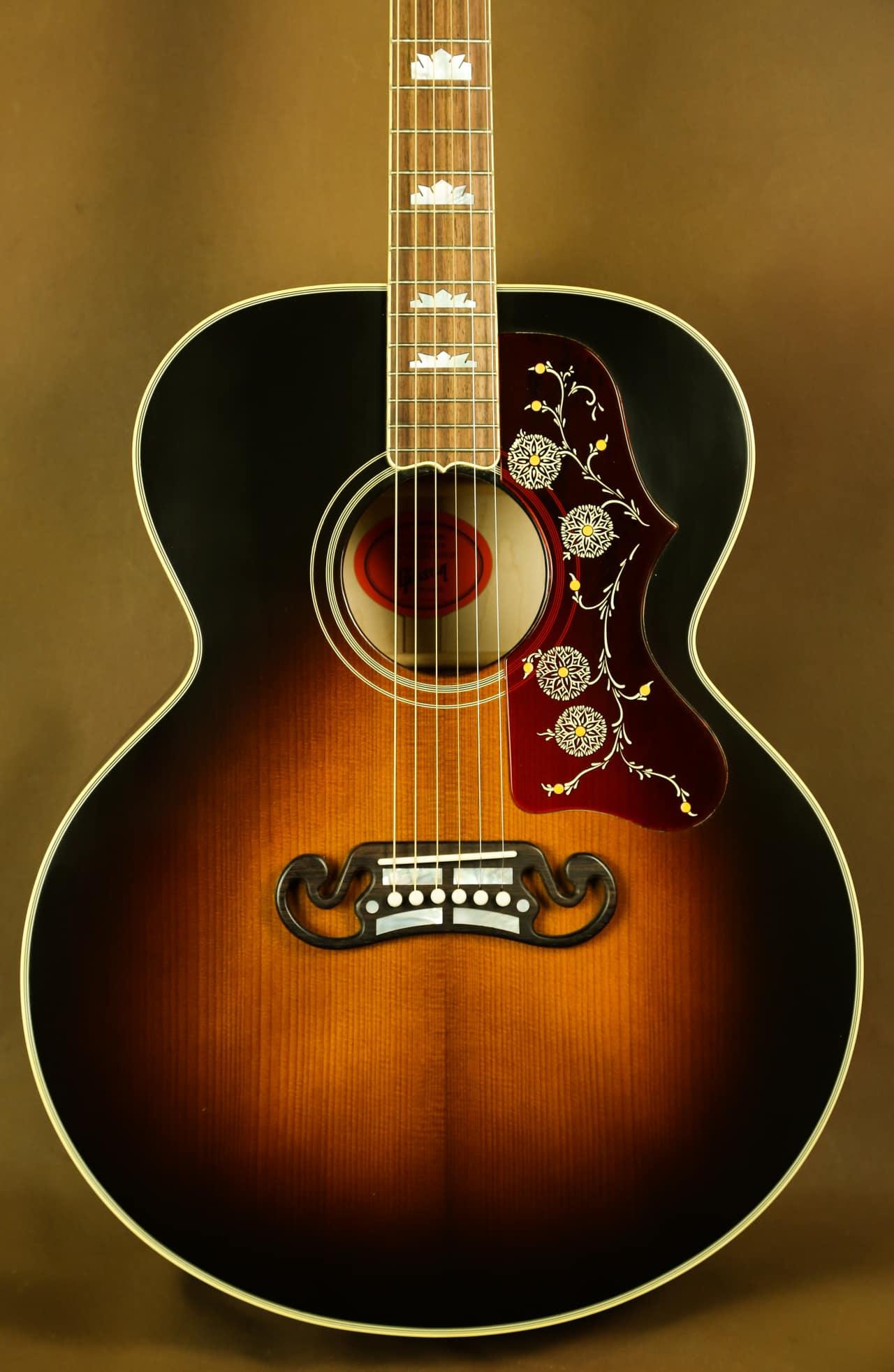 gibson 1957 sj 200 reissue adirondack top acoustic guitar reverb. Black Bedroom Furniture Sets. Home Design Ideas