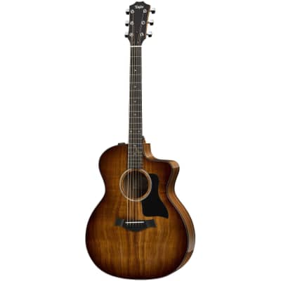 Taylor 224ce-K All Koa Finish Deluxe Grand Auditorium Acoustic Guitar