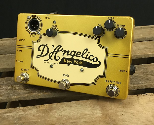 d 39 angelico new york jazz pedal by pigtronix fx loop reverb. Black Bedroom Furniture Sets. Home Design Ideas