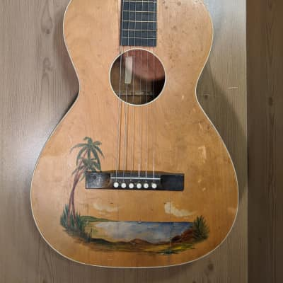 Richter Parlor Acoustic Island  40's Natural for sale