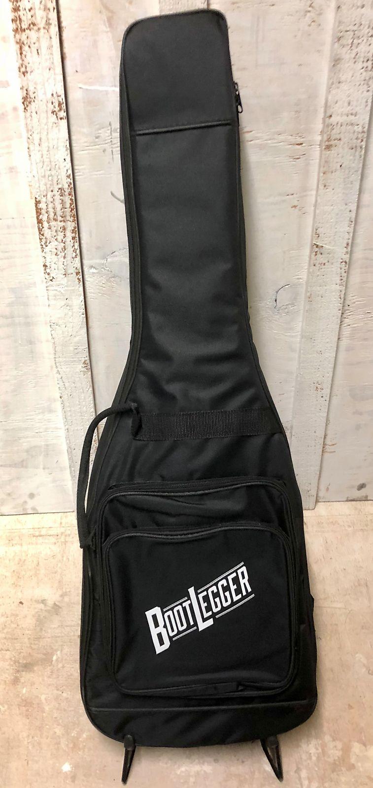 Bootlegger Single Barrel  Violin Gloss. Maple Body P90 & Single Coil With Case