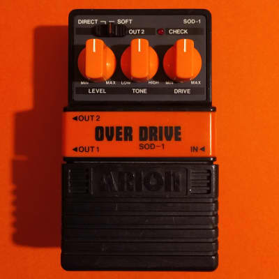 Arion SOD-1 Stereo OverDrive made in Japan - Dumble in a box for sale