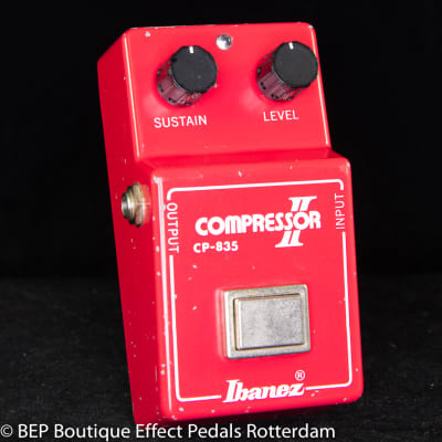 "Ibanez CP-835 Compressor II 1981 s/n 135881 Version 5, Japan mounted with CA3080E op amp w/ ""R"" logo"