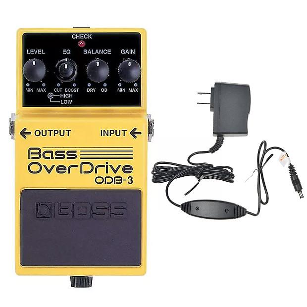boss odb 3 bass overdrive bundle w boss psa 120s2 power reverb. Black Bedroom Furniture Sets. Home Design Ideas