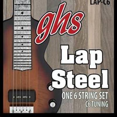 GHS #LAP-C6 - Lap Steel 6 String Set, C6 Tuning
