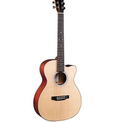 Martin 000CJr-10 E Auditorium Acoustic / Electric Guitar Natural w/ Gigbag