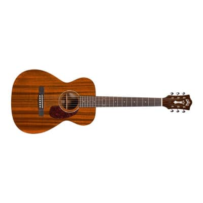 Guild M-120E Westerly Concert Electro Acoustic, Natural Mahogany for sale