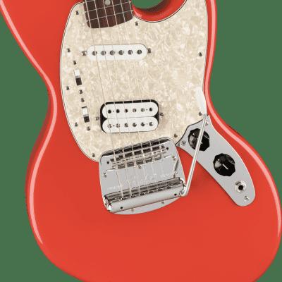 Fender Kurt Cobain Jag-Stang, Rosewood Fingerboard, Fiesta Red