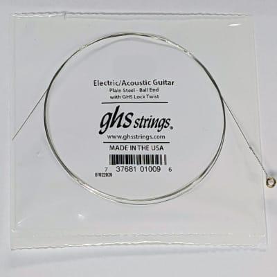 GHS Plain steel single string .018