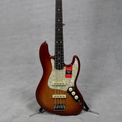 Fender Limited Edition Lightweight Ash American Professional Jazz Bass RW Sienna Sunburst