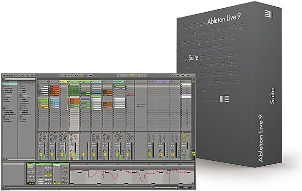 Ableton live 9 suite discount