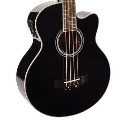 Richwood RB-102-CEBK acoustic bass guitar for sale