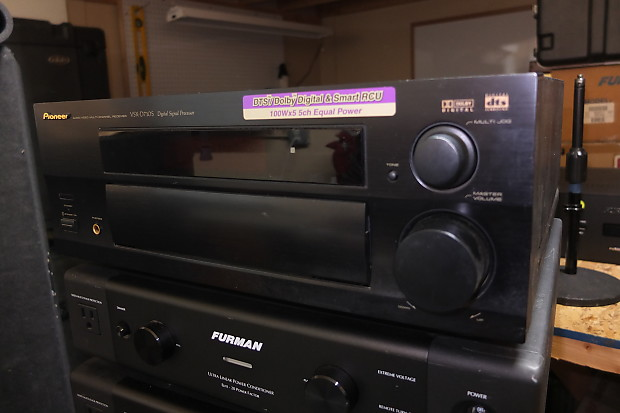 Pioneer vsx d710s surround sound home amplifier reverb pioneer vsx d710s surround sound home amplifier fandeluxe Choice Image