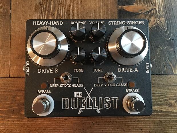 jesse davey the duellist dual overdrive pedal the duellist reverb. Black Bedroom Furniture Sets. Home Design Ideas