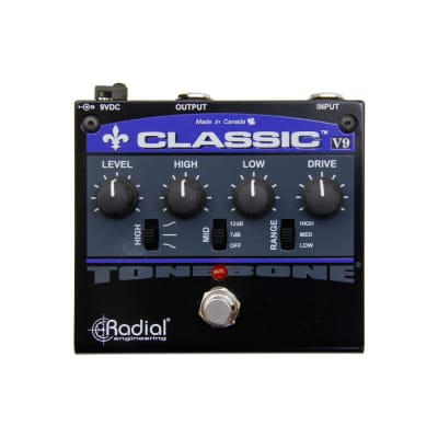 Radial Classic-V9 Distortion Guitar Effects Pedal