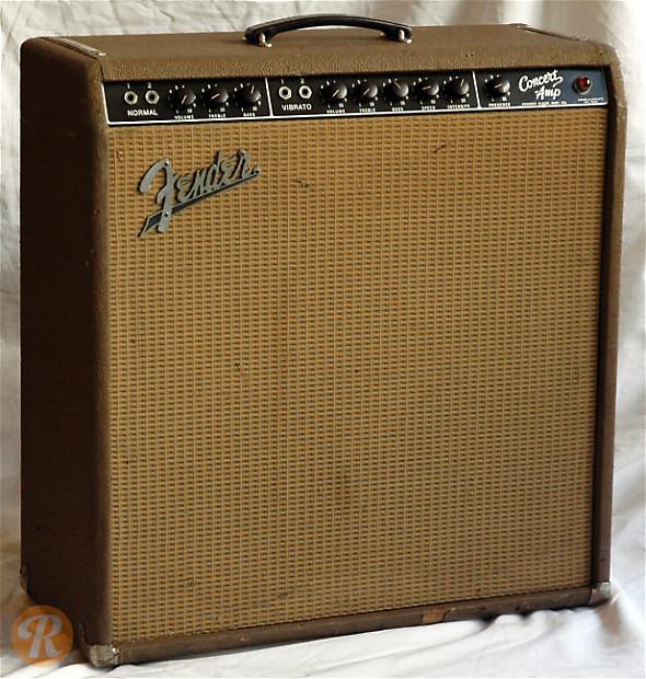Fender Concert Amp 1962 1963 Brown