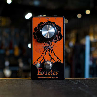 EarthQuaker Devices Erupter Fuzz Pedal for sale