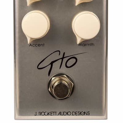 J. Rockett Audio Designs Tour Series GTO Guthrie Trapp Overdrive Guitar Effects Pedal for sale