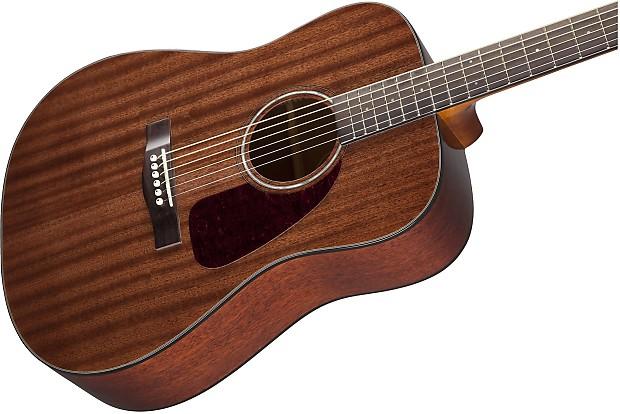 Fender CD 140S All Mahogany Dreadnought Natural