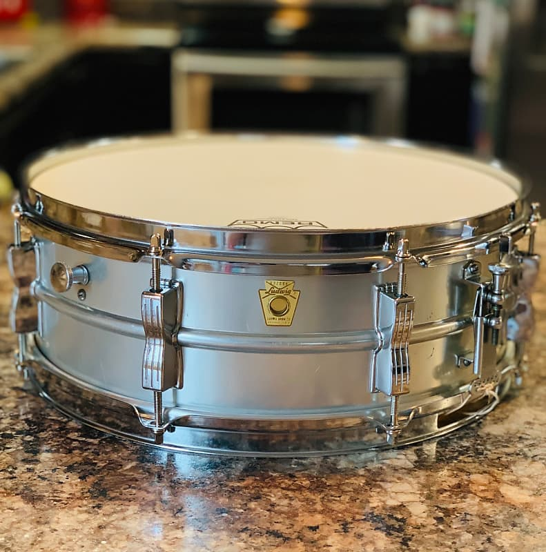 1968 all original ludwig acrolite 5x14 snare drum reverb. Black Bedroom Furniture Sets. Home Design Ideas