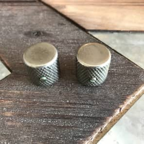 TOG/Real Life Relics 58 tele style knobs Relic Nickel