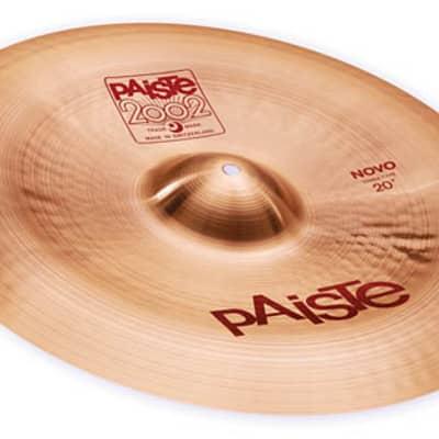 Paiste 20 inch 2002 Novo China Type Cymbal - 697643100220