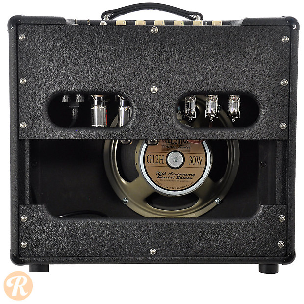 top hat super club deluxe 1x12 combo 2012 black with empire reverb. Black Bedroom Furniture Sets. Home Design Ideas