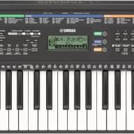 Yamaha PSRE253 61-Key Portable Keyboard and Survival Kit SKB2 (Power Supply, Headphone, Sustain Pedal ETC)
