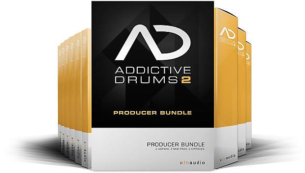XLN Audio Addictive Drums 2 Producer Bundle | Open Box Music