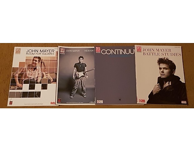 John Mayer Continuum Tab Book