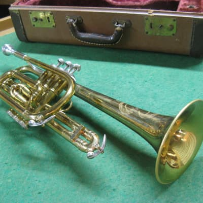 Blessing Standard Cornet 1956 - Refurbished - Original Case and Blessing 13 Mouthpiece