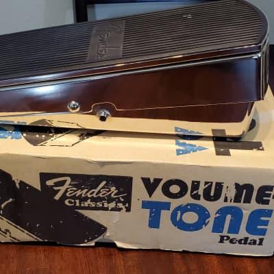 Fender Volume/Tone Pedal (Reissue) 2006 Chrome for sale