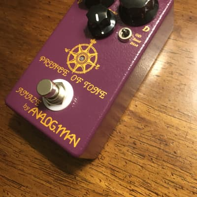Analogman Prince of Tone Overdrive Pedal