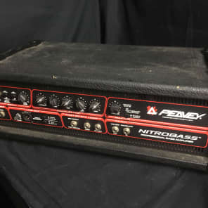 Peavey Nitrobass 400-Watt Professional Bass Amplifier Head