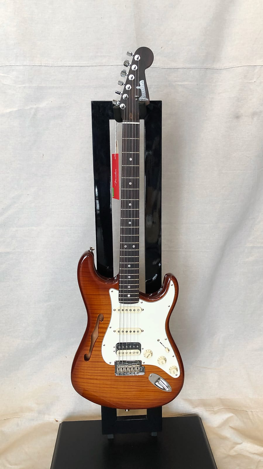 Fender Rarities Series Flame Top Thinline Stratocaster Violin Burst 2019