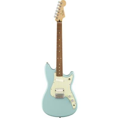 Fender Duo-Sonic HS 6-String Electric Guitar w/ Pau Ferro - Daphne Blue