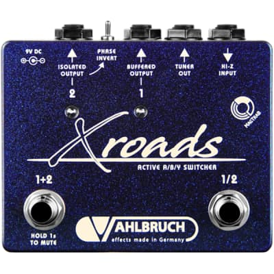 Vahlbruch XRoads (Crossroads) Active ABY Switcher Guitar Effects Pedal