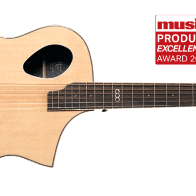 Michael Kelly Triad Port Acoustic Electric Guitar includes Free Hard Shell Case 129.00 Value Natural for sale