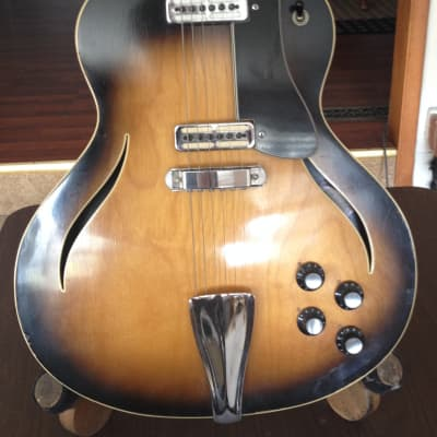 MESSENGER semi hollow  60's brown for sale