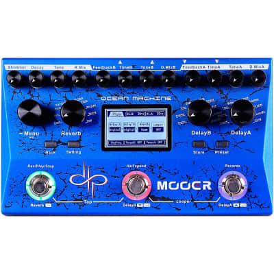 Mooer Ocean Machine Dual Delay Reverb and Looper Multi-Effects Pedal Regular