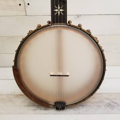 Ome Eclipse Open Back Banjo - Curly Maple Rim for sale