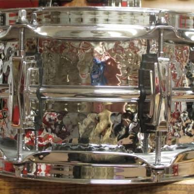 "Ludwig LM400K Hammered Supraphonic 5x14"" Aluminum Snare Drum"