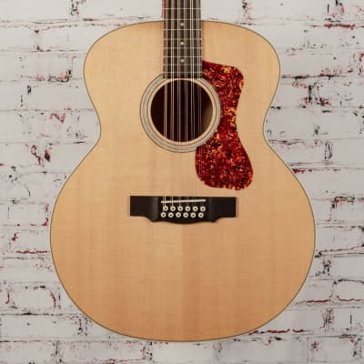 Guild F-2512E Maple Acoustic 12-string Guitar Natural