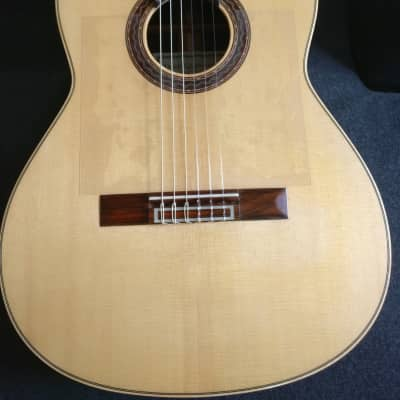Gil de Avalle 2016 Classical Guitar Madagascar RW / Spruce / French Polish for sale