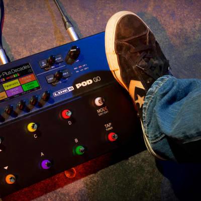 Line 6 POD GO Guitar Amp, Cabinet, + Effects Modeler w/ HX Effects + IR Loading