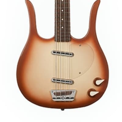 Danelectro Longhorn Bass Copperburst New, Free Shipping, DLHBASS-CPR for sale