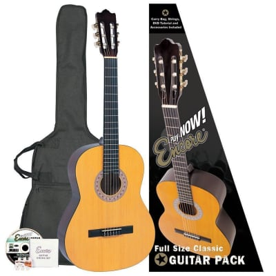 ENCORE 4/4 CLASSIC GUITAR OUTFIT for sale