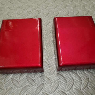 Pedal Enclosure  3 3/4 X 4 3/4  Candy Red